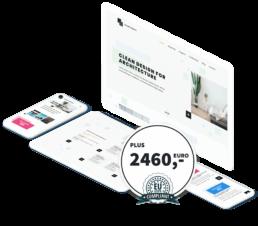 WordPres Plus Packet 2460 €