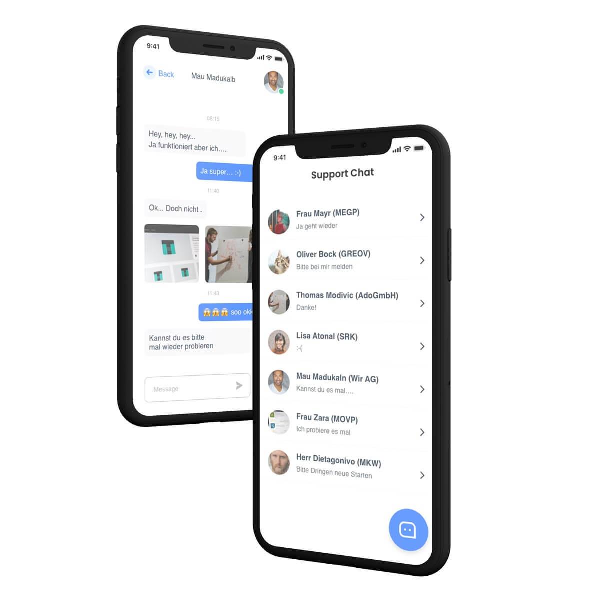 Unternehmen Chat